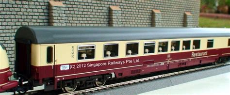 Singapore Railways Pte Ltd || Model Trains || Garden