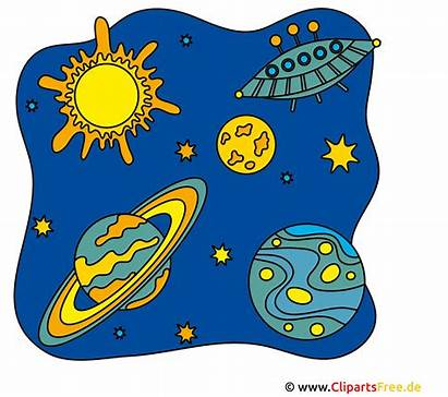 Weltraum Clipart Utklipp Clip Cliparts Espace Gratis