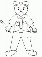 Coloring Policeman Printable Police Coloringhome Books Popular Officers Sheets sketch template