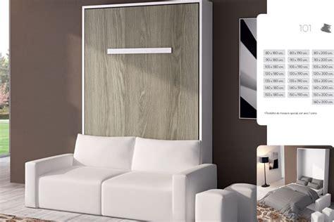 canapé lit convertible design armoire lit escamotable meubles canapés chezsoidesign