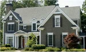 Exterior Window Color Schemes by Exterior Paint Combinations On Pinterest Split Level Exterior Big Houses E