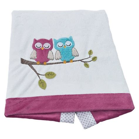 be be s collection babydecke eule fuchsia 75 x 100 cm kaufen otto