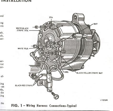 66 mustang alternator wiring diagram 36 wiring diagram