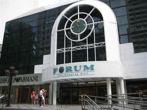 forum the shopping mall singapore shopping eventseeker