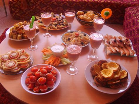 aperitif dinatoire les delices de oumsafiya