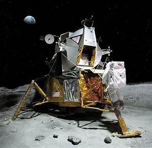 Moon Landing, 21 July 1969 Photograph by Detlev Van Ravenswaay