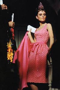 Audrey in pink sheath cocktail dress with matching jacket ...