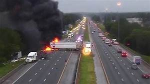 FHP: Fiery crash on I-75 in Gainesville kills 1