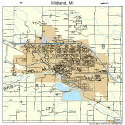 Street Map Midland Michigan