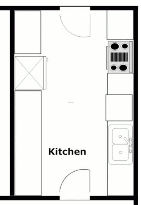 12+ Popular Kitchen Layout Design Ideas  Diy Design & Decor