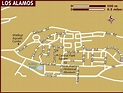 Map of Los Alamos