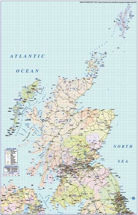british isles vector map collection   scale