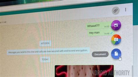 you can now send documents with whatsapp web android authority