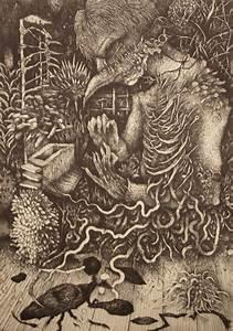 The Beautiful Morbid Etchings Of IKUMA NAO