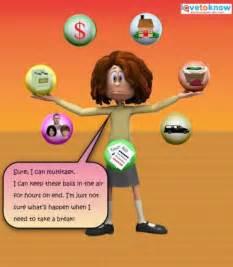 Women Stress Office Cartoon