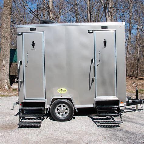 portable restroom trailer rental louisville ky  porta