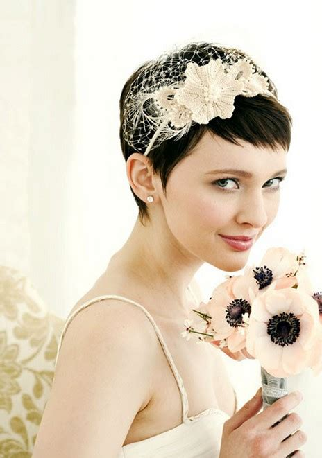 Pixie Hairstyles For Wedding by Pixie Cut For Wedding Lovely Bridal Pixie Cut