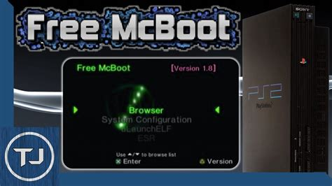 Ps2 Free Mcboot Change Home Screen Text Color! (quick
