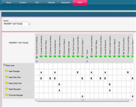 Custom Matrix In Business Publisher