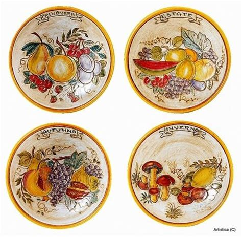 Tuscan Decorative Wall Plates by Italian Ceramic Centerpieces Bowls Ceramic Servings