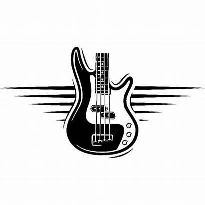 Guitar Electric Banner Electrical Head Rock Vector
