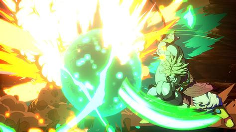 dragon ball fighterz broly bardock dlc  screenshots