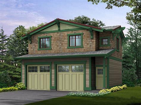 Garage Apartment Plans  Craftsmanstyle Garage Apartment