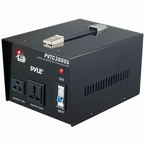 PYLE PVTC3000U | Step Up & Step Down Voltage Converter ...