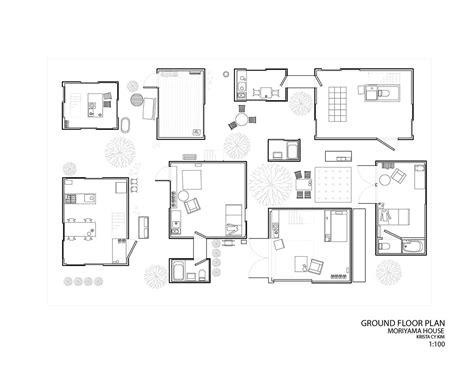house plan drawings moriyama house plan house plans