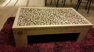 Table Basse En Bois Fait Maison