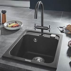 Einbauspüle Granit Günstig : grohe k700 einbausp le granit schwarz 31650ap0 ~ A.2002-acura-tl-radio.info Haus und Dekorationen
