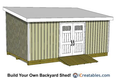 12x24 storage shed plans 12x24 lean to shed plans 12x24 shed plans lean to