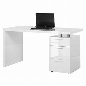 Tischplatte Hochglanz Weiß : schreibtisch wei hochglanz preisvergleich die besten angebote online kaufen ~ Buech-reservation.com Haus und Dekorationen