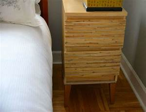 Adding legs to an Ikea Malm nightstand - use plywood/MDF ...