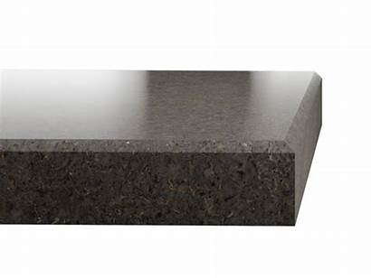 Mist Copper Silestone Granite Edge Formats Kitchen