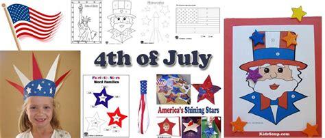 july preschool kindergarten  daycare crafts