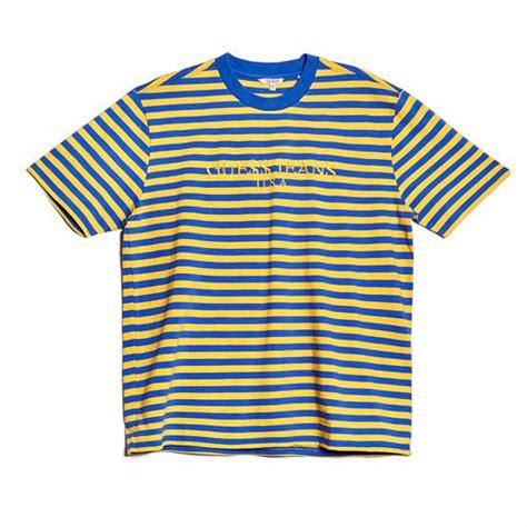 GUESS x ASAP Rocky David Reactive Tee Yellow / Blue Small