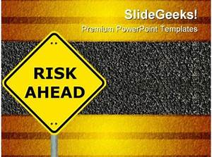 Risk Ahead Symbol Powerpoint Templates And Powerpoint