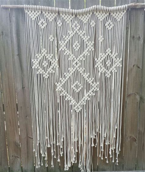Backdrop Wall Hanging by Large Macrame Wall Hanging Wedding Backdrop Macrame