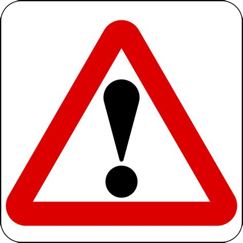This month, aaron has been extra creative in developing these projects. File:Singapore road sign - Warning - Other danger.svg ...