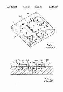 patent us5963429 printed circuit substrate with cavities With surface mount device components when i designed the circuit board