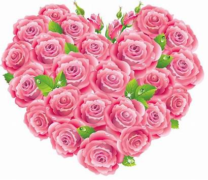 Roses Heart Clipart Hearts Transparent Yopriceville