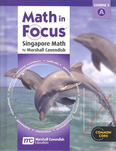 Math In Focus Course 3 Student Book A (grade 8) (059070) Details  Rainbow Resource Center, Inc