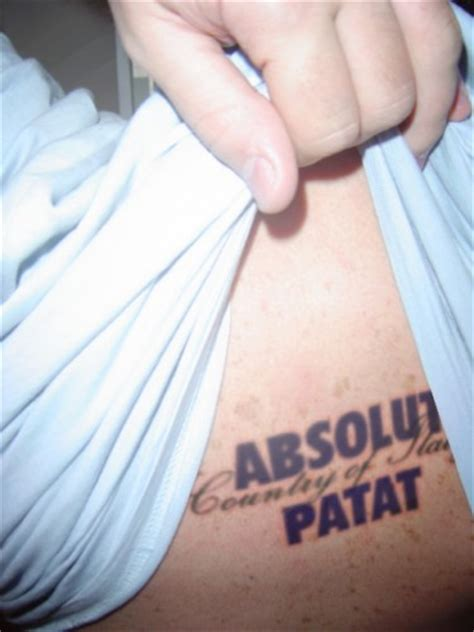 hilariously bad booze tattoos   feast