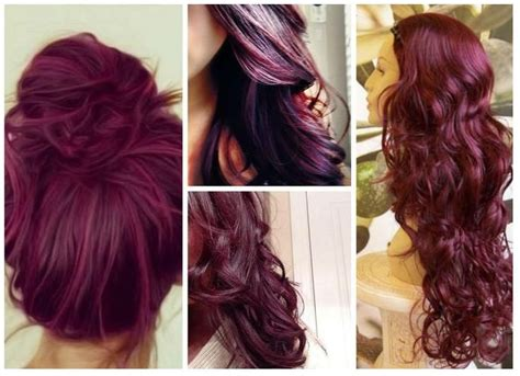17 Best Ideas About Burgundy Hairstyles On Pinterest