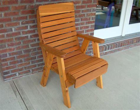Patio Chairs by Cedar Royal Highback Patio Chair
