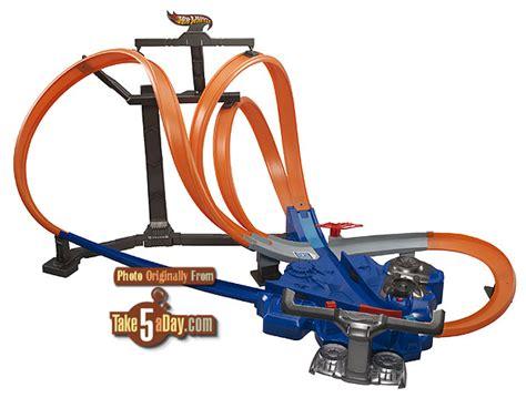 Wheels Wall Tracks Template Mattel Wheels Track Sets Toyfair 2013 Take Five A Day