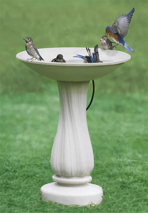 duncraft com all seasons heated bird bath