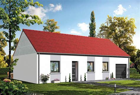 modele maison plain pied 4 chambres plan maison individuelle 3 chambres baya habitat concept