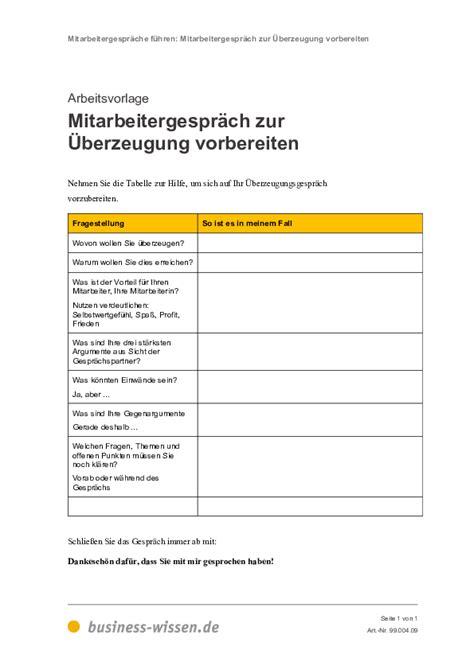 mitarbeitergespraeche fuehren management handbuch